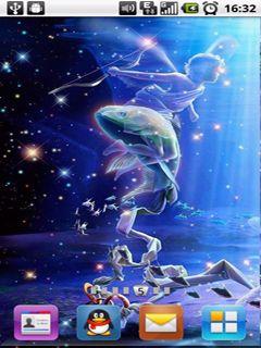 梦幻星空星座二图片
